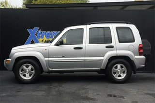 2003 Jeep Cherokee KJ MY2003 Limited Silver 4 Speed Automatic Wagon