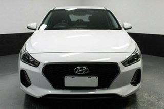 2017 Hyundai i30 PD MY18 Active Polar White 6 Speed Manual Hatchback.