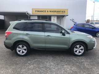 2015 Subaru Forester S4 MY15 2.5i-L CVT AWD Green 6 Speed Constant Variable Wagon.