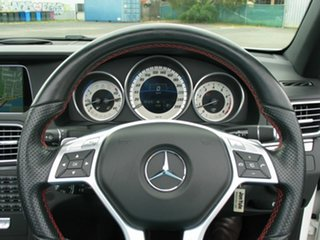 2014 Mercedes-Benz E250 207 MY14 White 7 Speed Automatic Cabriolet