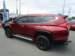 2017 Mitsubishi Pajero Sport QE MY17 GLS Red 8 Speed Sports Automatic Wagon.