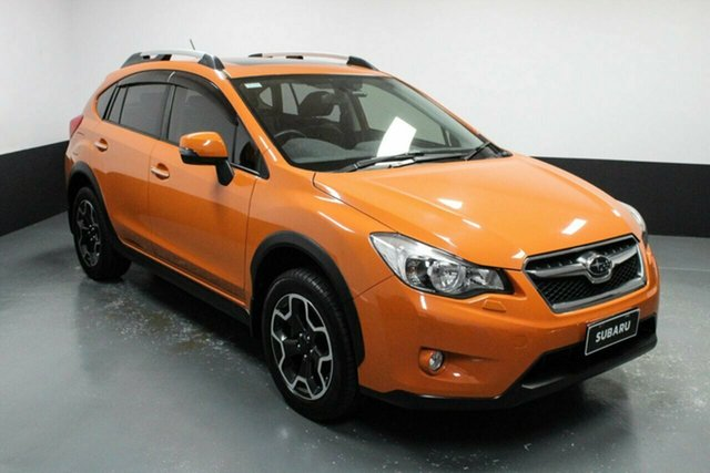 Used Subaru XV G4X MY13 2.0i Lineartronic AWD Hamilton, 2012 Subaru XV G4X MY13 2.0i Lineartronic AWD Orange 6 Speed Constant Variable Wagon