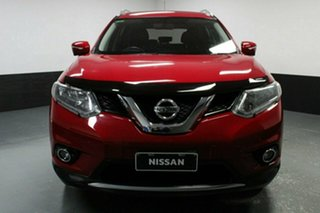2017 Nissan X-Trail T32 ST-L X-tronic 2WD Burning Red 7 Speed Constant Variable Wagon.