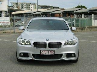 2013 BMW 528i F10 MY13 Silver 8 Speed Automatic Sedan.