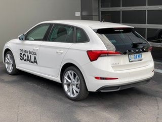 2020 Skoda Scala NW MY20.5 110TSI DSG White 7 Speed Sports Automatic Dual Clutch Hatchback
