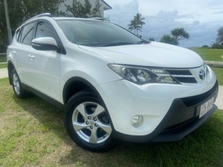 2014 Toyota RAV4 ASA44R MY14 GXL AWD White 6 Speed Sports Automatic Wagon.