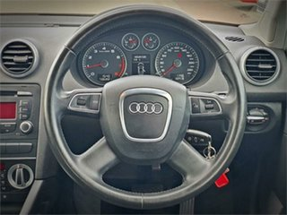 2010 Audi A3 8P Attraction Black Sports Automatic Dual Clutch Hatchback