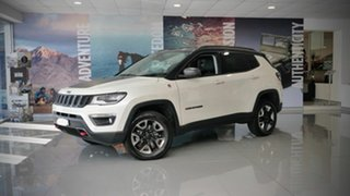 2020 Jeep Compass M6 MY20 Trailhawk Vocal White 9 Speed Automatic Wagon