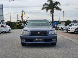 1999 Toyota Crown JZS171 Athlete V Blue Automatic Sedan.