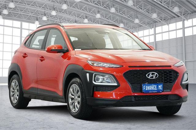 Used Hyundai Kona OS.2 MY19 Go 2WD Victoria Park, 2019 Hyundai Kona OS.2 MY19 Go 2WD Orange 6 Speed Sports Automatic Wagon