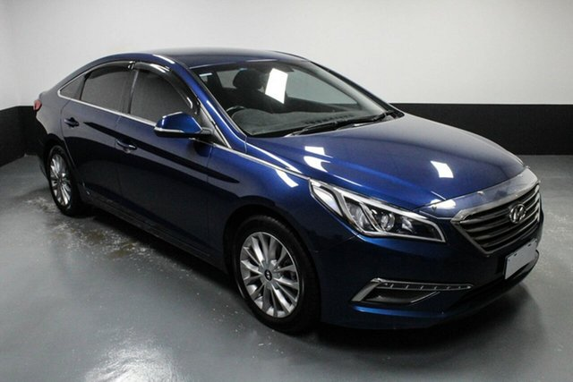 Used Hyundai Sonata LF2 MY16 Active Hamilton, 2016 Hyundai Sonata LF2 MY16 Active Coast Blue Wu7 6 Speed Sports Automatic Sedan
