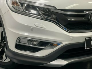 2016 Honda CR-V RM Series II MY17 VTi-L White Orchid 5 Speed Sports Automatic Wagon.