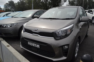 2018 Kia Picanto JA MY18 S Silver 4 Speed Automatic Hatchback.