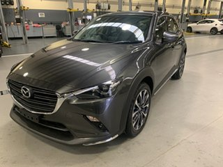 2021 Mazda CX-3 DK4W7A sTouring SKYACTIV-Drive i-ACTIV AWD Machine Grey 6 Speed Sports Automatic