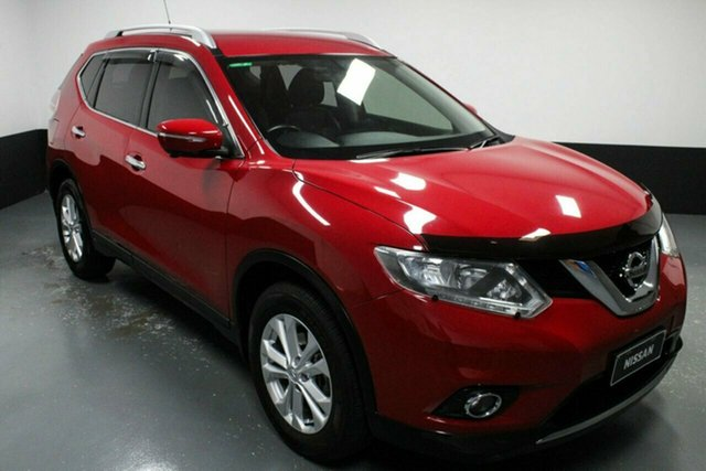 Used Nissan X-Trail T32 ST-L X-tronic 2WD Hamilton, 2017 Nissan X-Trail T32 ST-L X-tronic 2WD Burning Red 7 Speed Constant Variable Wagon