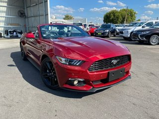 2015 Ford Mustang FM SelectShift Maroon 6 Speed Sports Automatic Convertible.