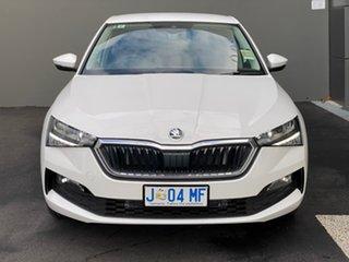 2020 Skoda Scala NW MY20.5 110TSI DSG White 7 Speed Sports Automatic Dual Clutch Hatchback.