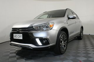 2018 Mitsubishi ASX XC MY18 LS 2WD Sterling Silver 1 Speed Constant Variable Wagon.