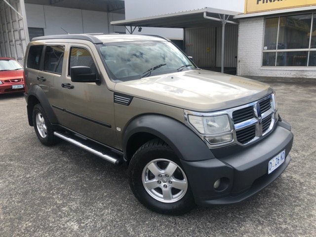 Used Dodge Nitro KA MY07 SXT Derwent Park, 2007 Dodge Nitro KA MY07 SXT Gold 5 Speed Sports Automatic Wagon