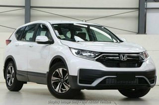 2020 Honda CR-V RW MY21 VTi FWD 7 Platinum White 1 Speed Constant Variable Wagon