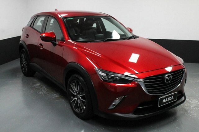 Used Mazda CX-3 DK2W76 sTouring SKYACTIV-MT Hamilton, 2016 Mazda CX-3 DK2W76 sTouring SKYACTIV-MT Red 6 Speed Manual Wagon