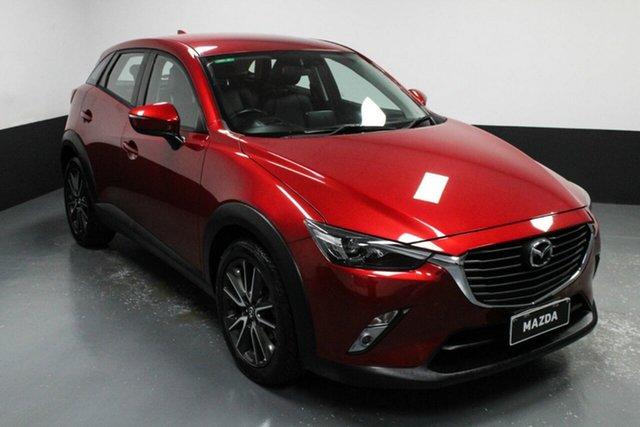 Used Mazda CX-3 DK2W76 sTouring SKYACTIV-MT Hamilton, 2016 Mazda CX-3 DK2W76 sTouring SKYACTIV-MT Red 6 Speed Manual Wagon