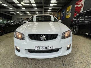 2011 Holden Ute VE II SV6 Thunder White Sports Automatic Utility.