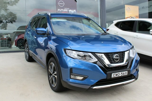Demo Nissan X-Trail T32 MY21 ST-L X-tronic 2WD Cardiff, 2021 Nissan X-Trail T32 MY21 ST-L X-tronic 2WD Marine Blue 7 Speed Constant Variable Wagon