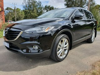 2012 Mazda CX-9 TB Series 5 Grand Touring Black Sports Automatic Wagon.