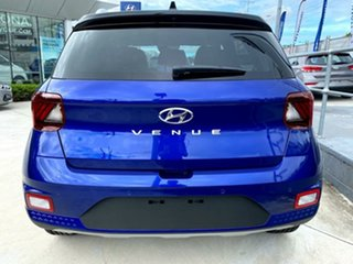2021 Hyundai Venue QX.V3 MY21 Elite Intense Blue 6 Speed Automatic Wagon