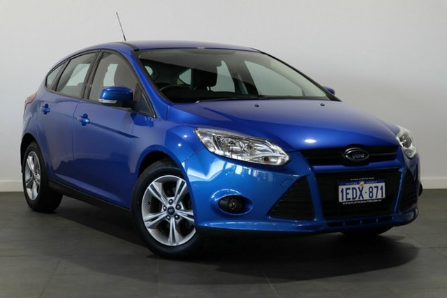 Used Ford Focus LW MkII Trend PwrShift Bayswater, 2013 Ford Focus LW MkII Trend PwrShift Blue 6 Speed Sports Automatic Dual Clutch Hatchback