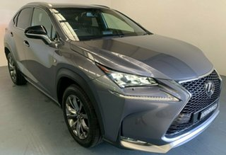 2015 Lexus NX AGZ15R NX200t AWD F Sport Silver 6 Speed Sports Automatic Wagon