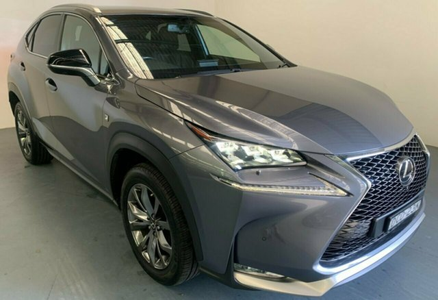 Used Lexus NX AGZ15R NX200t AWD F Sport Newcastle West, 2015 Lexus NX AGZ15R NX200t AWD F Sport Silver 6 Speed Sports Automatic Wagon