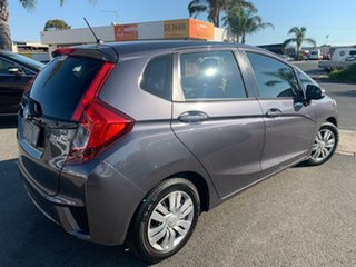 2015 Honda Jazz GK MY15 VTi Grey Continuous Variable Hatchback