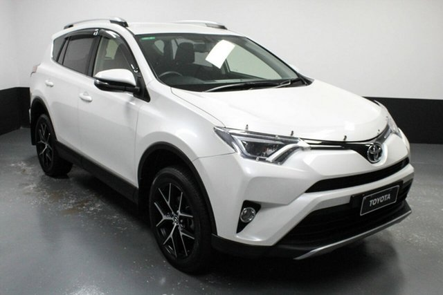 Used Toyota RAV4 ASA44R GXL AWD Cardiff, 2016 Toyota RAV4 ASA44R GXL AWD White 6 Speed Sports Automatic Wagon