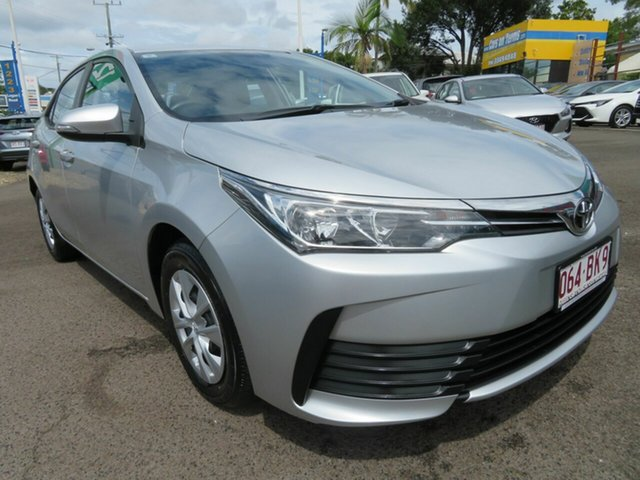 Used Toyota Corolla ZRE172R Ascent S-CVT Mount Gravatt, 2018 Toyota Corolla ZRE172R Ascent S-CVT Silver 7 Speed Constant Variable Sedan