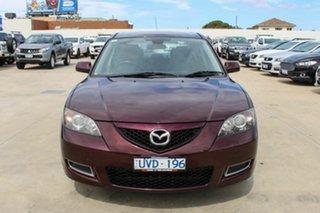 2007 Mazda 3 BK10F2 Neo Purple 4 Speed Sports Automatic Sedan