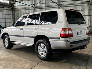 2007 Toyota Landcruiser UZJ100R GXL White 5 Speed Automatic Wagon