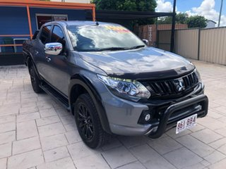 2017 Mitsubishi Triton MQ MY17 GLS Double Cab Sports Edition Grey 5 Speed Sports Automatic Utility.