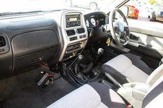 2011 Nissan Navara D22 MY2010 ST-R White 5 Speed Manual Utility