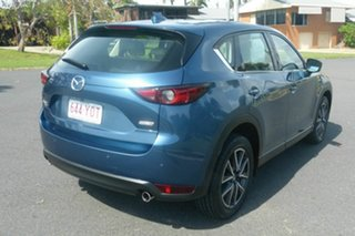 2017 Mazda CX-5 KF4W2A GT SKYACTIV-Drive i-ACTIV AWD Blue 6 Speed Sports Automatic Wagon.