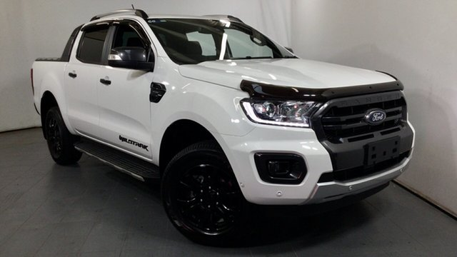 Used Ford Ranger PX MkIII 2019.00MY Wildtrak Elizabeth, 2019 Ford Ranger PX MkIII 2019.00MY Wildtrak White 10 Speed Sports Automatic Double Cab Pick Up