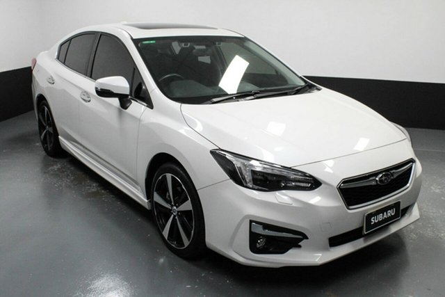 Used Subaru Impreza G5 MY19 2.0i-S CVT AWD Hamilton, 2019 Subaru Impreza G5 MY19 2.0i-S CVT AWD White 7 Speed Constant Variable Sedan