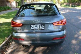 2014 Audi Q3 8U S-Tronic Silver 7 Speed Automatic