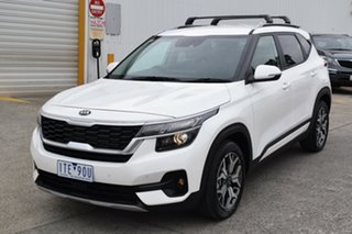 2021 Kia Seltos SP2 MY21 Sport+ 2WD White 1 Speed Constant Variable Wagon.