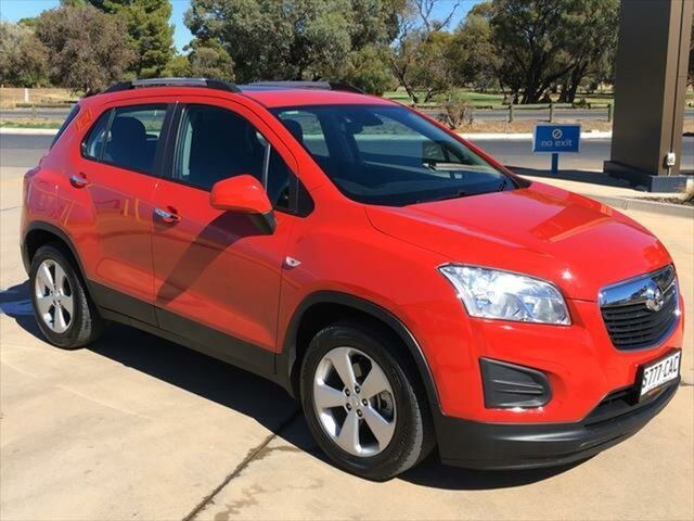 Used Holden Trax TJ MY16 Active Berri, 2016 Holden Trax TJ MY16 Active Red 6 Speed Automatic Wagon