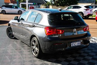 2015 BMW 1 Series F20 LCI 118i Steptronic Sport Line Grey 8 Speed Sports Automatic Hatchback.