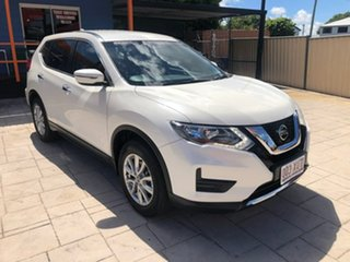 2017 Nissan X-Trail T32 ST 2WD White 6 Speed Manual Wagon.