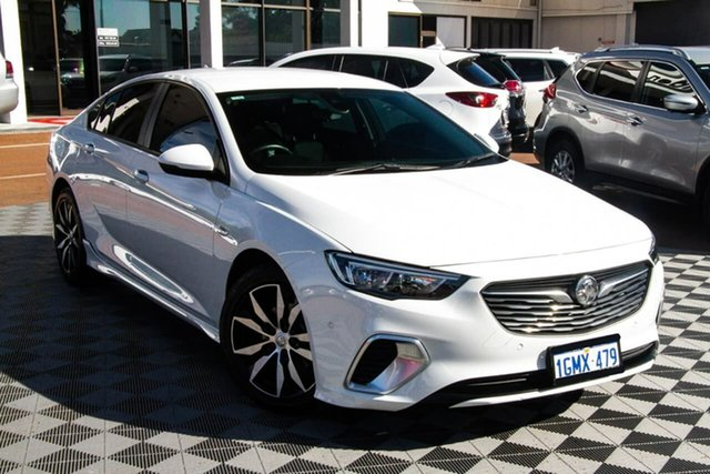 Used Holden Commodore ZB MY18 RS Liftback Attadale, 2018 Holden Commodore ZB MY18 RS Liftback White 9 Speed Sports Automatic Liftback