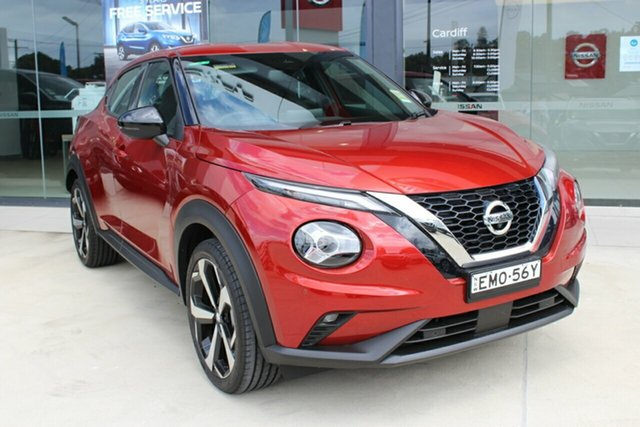 Demo Nissan Juke F16 ST-L DCT 2WD Cardiff, 2020 Nissan Juke F16 ST-L DCT 2WD Fuji Sunset Red 7 Speed Sports Automatic Dual Clutch Hatchback